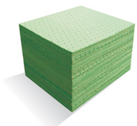 MBT - Green Hazmat Absorbent Mats