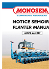 Meca V4 - Sugarbeet Drills for Sugarbeet, Oilseed Rape & Chicory - Manual