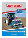 Monosem - MS Pneumatic - Vegetable Drills
