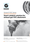 Genano - VOC Series - Smart Catalytic Solution for Exhaust Gas VOC Abatement - Brochure