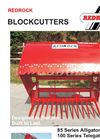 Model 120 Series - Large Opening Blockcutter Brochure