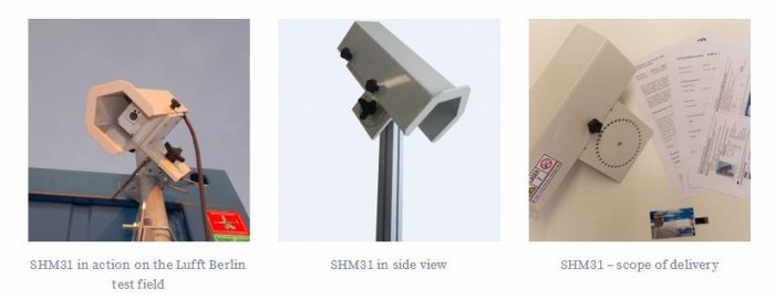New from Lufft: The laser-based snow depth sensor SHM31