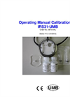 Model IRS31-UMB - Calibration Kit - Operating Manual