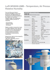 Lufft - Model WS3000-UMB - Smart Weather Sensor - Brochure