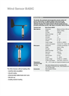 Lufft - Model Basic - Wind Sensor - Datasheet