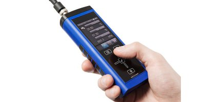 Lufft - Model XP400 - Hand-Held Measuring Device for Measuring Flow