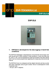 odel EHP-GWL600 - Ground Water Quality Monitoring System Brochure