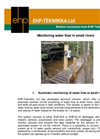 Small Rivers Water Flow Monitoring System Brochure