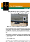 EHP-UMS - Ultrasonic Measurement Station  Brochure