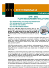EHP–MSU - Moveable Flow Monitoring System  Brochure