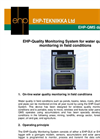 Model EHP-DL6 or EHP-DL12 - Surface Water Level Quality Monitoring System Brochure