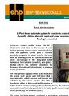 Model EHP-FAS - Flood Alarm System Brochure