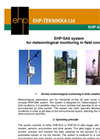 Model EHP-SA6 - Meteorological Monitoring System Brochure