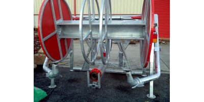 Slurry Mate - Model 1200 Mtr - Quick Release Twin Splashplate