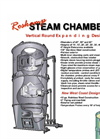 Vertical Round Steam Chambers Datasheet