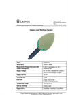 Caipos - Model LW - Leaf Wetness Sensor Brochure
