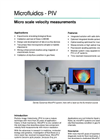 MicroPIV System - Velocity Measurements Brochure