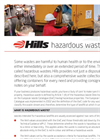 Hazardous Waste Service Brochure