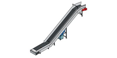 Model KGF - Chain Belt Conveyor