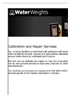 Load Cell Installation, Repair & Calibration Services Datasheet