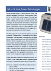 Model ML-215 - 2G Data Logger  Brochure
