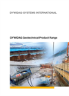 Geotechnical Product Range- Brochure
