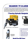 Seamor - Portable Lightweight and Stable Underwater ROV System Brochure