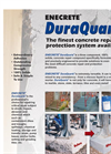DuraQuartz - Solids Concrete Repair Compound Component- Brochure