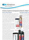 Electric Water Softeners - Brochure