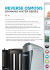 Kinetico - Model K2 & K5 - Drinking Water Filter - Brochure
