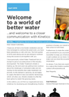 Welcome to a world of better water - April 2015