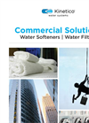 Commercial Solutions - Water Softeners and Water Filters - Brochure