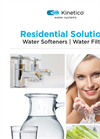 Residential Solutions - Water Softeners and Water Filters - Brochure