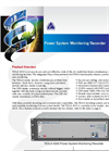 TESLA - Model 4000 - Power Monitoring Recorder System Brochure