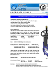 A Series - Knife Gate Valves Datasheet