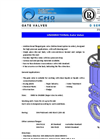 CMO - D Series - Knife Gate Valves - Brochrure