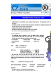 CMO - T Series - Knife Gate Valves - Brochure