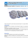 CMO - MF Series - Flanged or Wafer Butterfly Damper Valve - Brochure