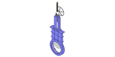 CMO - Model GR Series - Round Guillotine Damper