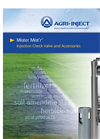 Mister Mistr - Patented Injection Check Valve Brochure
