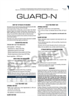 Guard - Model N - Formulated Seed Inoculant Brochure