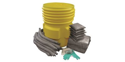 AllSorb - Universal Spill Kit Over Packs, 65 Gallon Pail