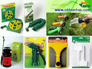 Garden Yard Water Hose Set with Spray Nozzle, garden hose reel cart, hose pipe reel trolley