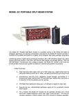 HTI - Model 241 - Portable Split-Beam Echo Sounder Datasheet