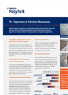 TenCate Polyfelt - TS - Separation & Filtration Nonwovens  Brochure