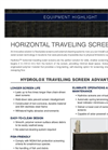 Hydrolox - Horizontal Traveling Screen - Brochure