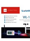 Scarlet - Model WL-11 - Wireless Data Logger Anemometer - Brochure