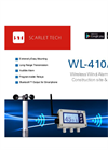 Scarlet - Model WL-410/XB - Wireless Wind Alarm System - Brochure