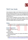 Scarlet - Thermal Work Limit Information Technology (TWLIT) Software Brochure