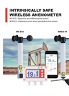 Intrinsically Safe Wireless Anemometer - Brochure